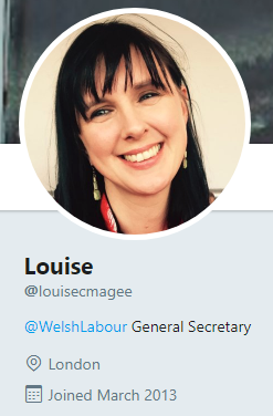 Louise Magee Twitter