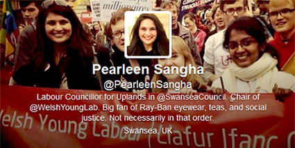 Peraleen Sangha Twitter