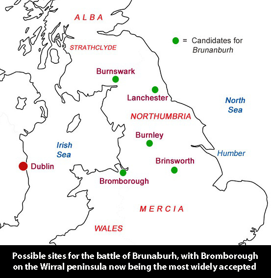 Brunanburh sites