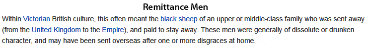 Remittance men
