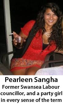 Pearleen Sangha party girl
