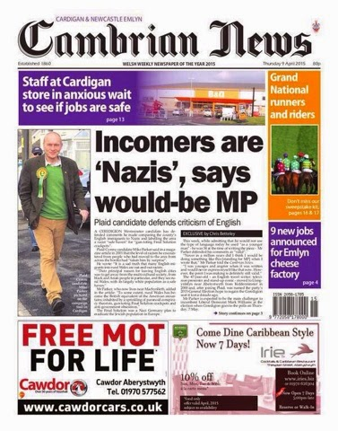 Cambrian News Nazis
