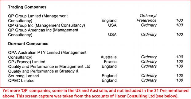 QP companies