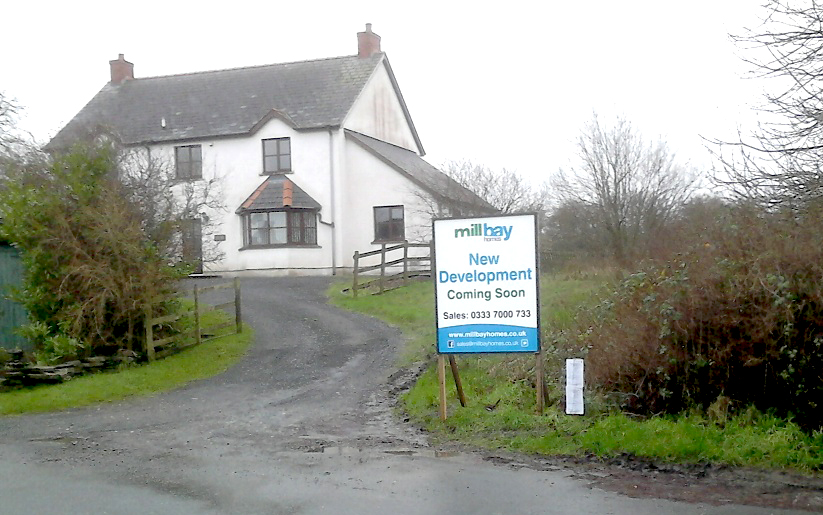 Mill Bay sign