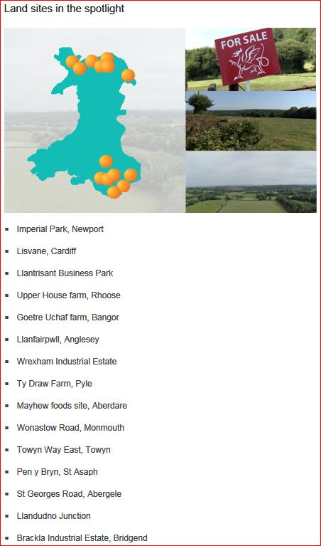 RIFW Land Sales