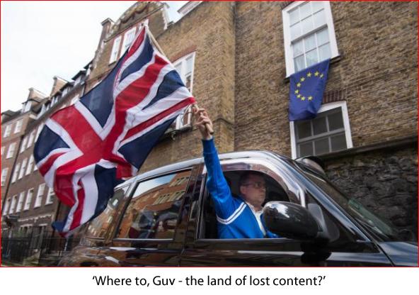 Brexit taxi