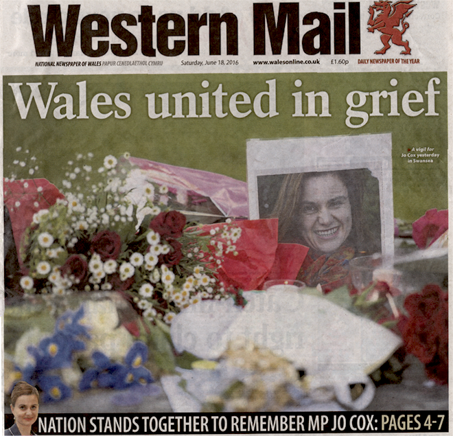 Western Mail Jo Cox