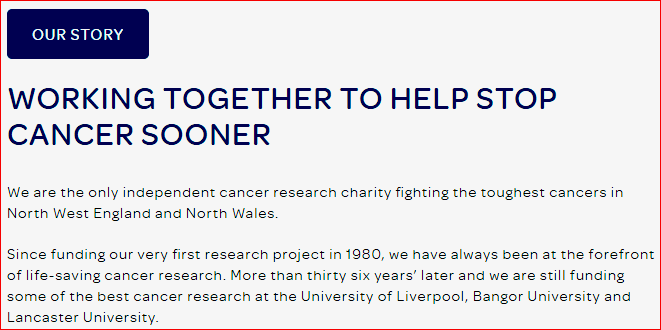 North West Cancer Research About Us