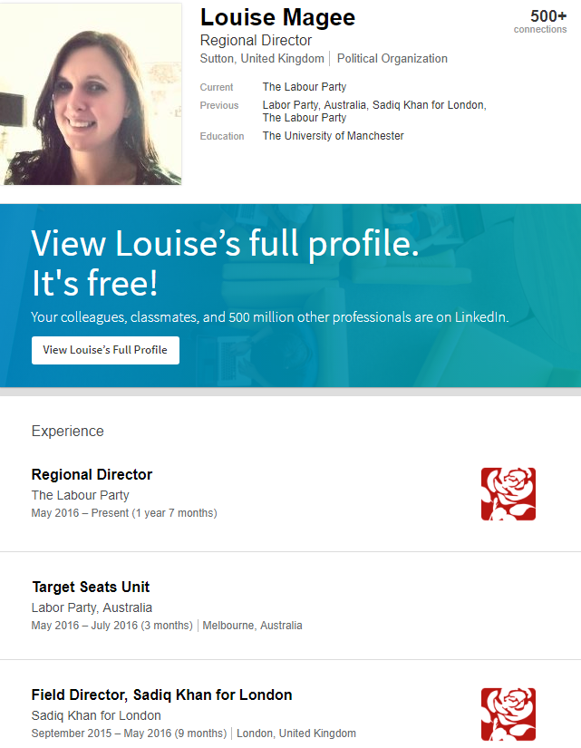 Louise Magee Linkedin