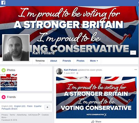 Karl Pollard Facebook