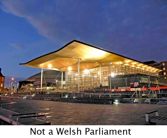 Welsh Assembly building, Cardiff